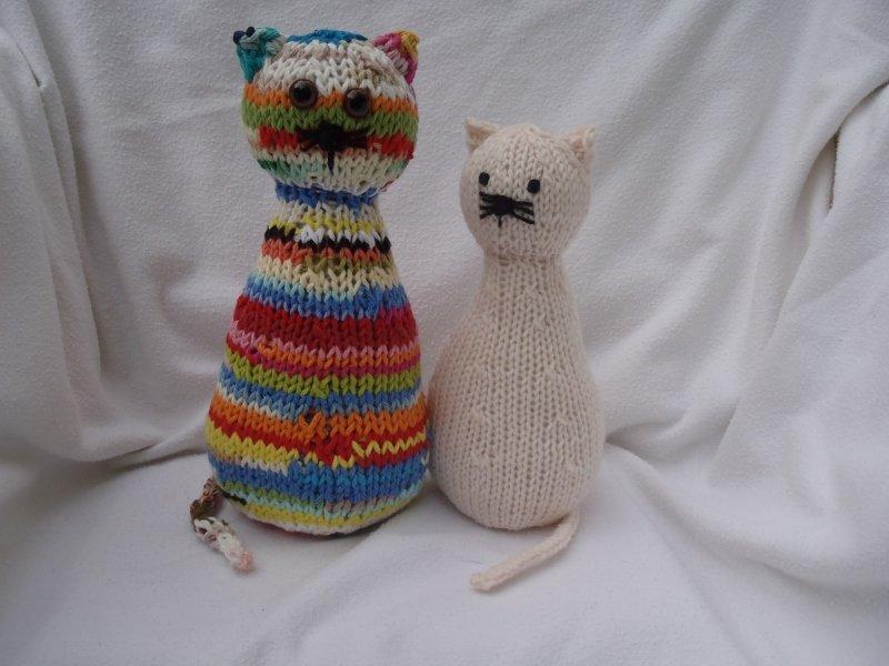Cecile Cat Color Stripes