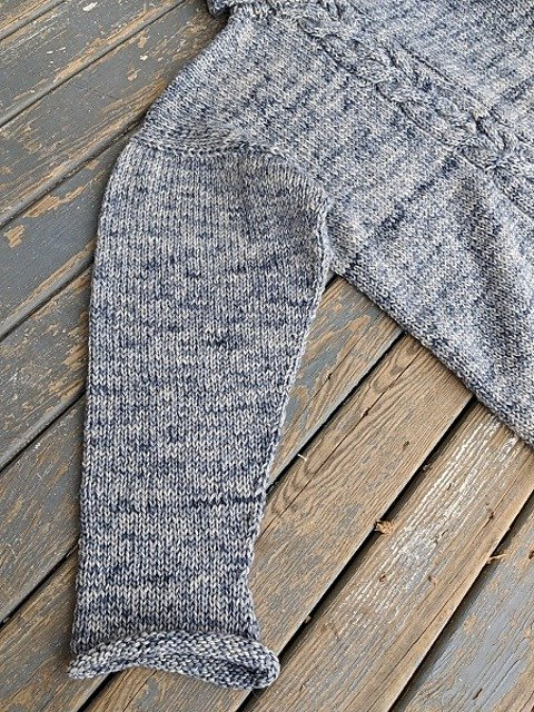 Voyager Sweater Sleeve